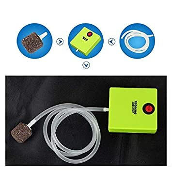 Aireador para Acuario portatil, Funciona con Pilas, con Piedra de Aire y Tubo.: Amazon.es: Productos para mascotas