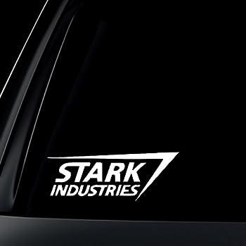 Amazon Com Stark Industries Car Decal Sticker Automotive
