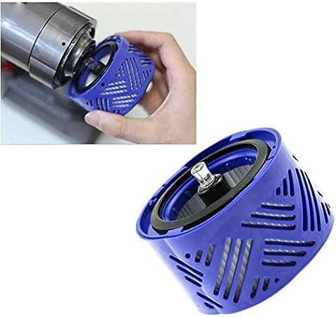 Ganquer Trasero de Repuesto Piezas Doméstico Ligero Filtro Aspiradora para Dyson V6 - Azul, Free Size: Amazon.es: Hogar