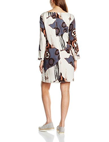 Great Plains Hana Tunic Dress, Vestido para Mujer Mehrfarbig (Ebony Navy Combo)