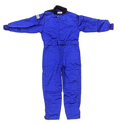 G-Force Unisex-Child One-Piece Suit Blue,Medium