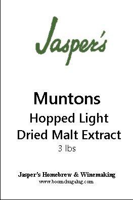 Hopped Dried Light Malt Extract 3 lb Bag