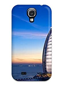 CaseyKBrown Scratch-free Phone Case For Galaxy S4- Retail Packaging - Tower Of The Arabs