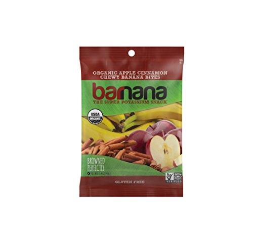 Barnana Organic Chewy Banana Bites Variety Pack, 12 Count