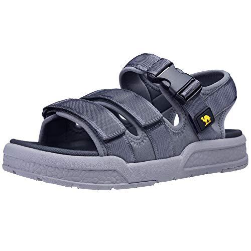 2d43e2769a47 CAMEL CROWN Men s Sport Sandals Open Toe Strap Athletic Summer Beach Sandal  Outdoor Walking Hiking Water