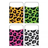 Trend T-77902BN Leopard Terrific Pockets Variety Pack, 40/PK, MultiPk 6 Packs/CT