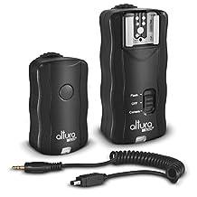 Altura Photo Wireless Flash Trigger for NIKON w/ Remote Shutter (NIKON DF D3200 D3100 D3300 D5000 D5100 D5200 D5300 D7000 D7100 D600 D610 D750 D90 DSLR Cameras)