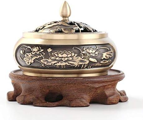 エレガントな 香炉、純銅Insencesホルダー、アロマ装飾ホームオフィスヨガのための気化お香スティックホルダー 絶妙な (Color : C)