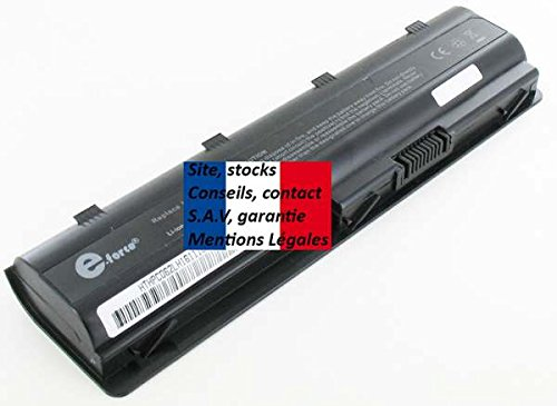 E-Force ® Laptop Battery for HP MU06, MU09, MU09XL, NBP6 A175 – France/48hr delivery, free Shipping, Guarantee by Real French (Imprint). Type HSTNN-YB0 W MU06/593562-001 593554-001 HSTNN-Q50 °C -q62 °C/-yb0x? Pavilion g7...