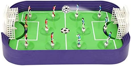 Mini Campo de fútbol Juego de Mesa de expulsión Interactivo Entre ...