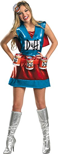 Morris Costumes Women's SIMPSONS DUFF DLX, 12-14 -