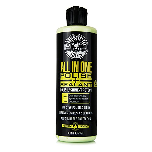 Chemical Guys Gap_106_16 All-in-One Polish + Shine + Sealant (16 oz) (Best All In One Car Polish)