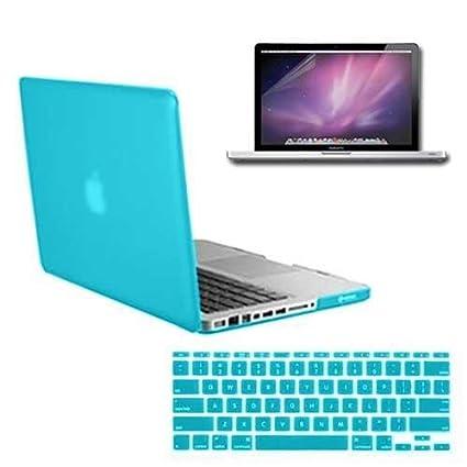 Kit Case Capa Protetora Dura Emborrachada para MacBook Pro 13 quot  +  Película Para Teclado + 75e680428a