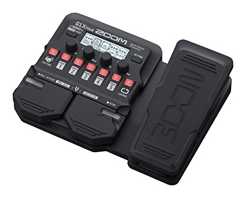 Zoom-G1X-Four-Multi-effects-Processor-with-Expression-Pedal-without-adapter-Black