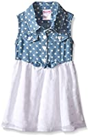 Nannette Girls' Dress Chambray Top and C...