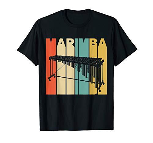 Vintage Style Marimba Silhouette T-Shirt