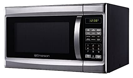 Emerson 13 CU FT 1000 Watt Touch Control Stainless Steel Front