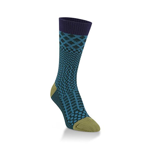 UPC 053455062208, World's Softest Womens Soft Knit Gallery Crew Socks (Peacock)