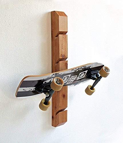 Skateboard Rack - Wall Mounted Skateboard -