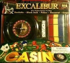 Excalibur Casino Parlor Games 5 Game Set