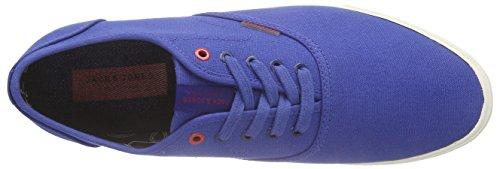 JACK & JONES Herren Jjspider Canvas Sneaker Blue Blau (Limoges)