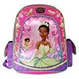 "Disney the Princess Tiana and the Frog 15"" Large School Backpack"