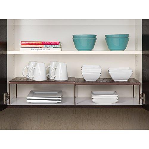 Kitchen Shelf Amazon: Seville Classics Expandable Kitchen Counter & Cabinet