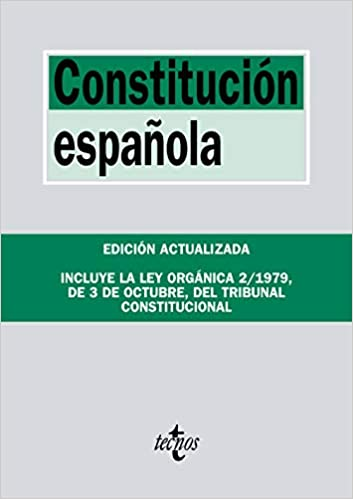 Constitución Española: Incluye la Ley Orgánica del Tribunal Constitucional Derecho - Biblioteca De Textos Legales: Amazon.es: Editorial Tecnos: Libros