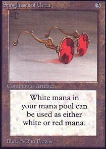 Magic: the Gathering - Sunglasses of Urza - - Of Sunglasses Urza
