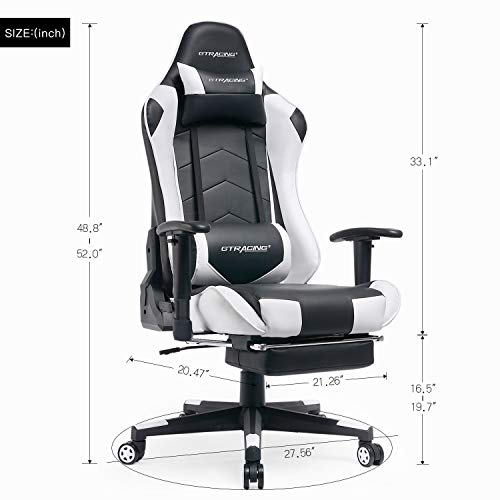 Gtracing Gaming Chair Heavy Duty Office Chair With