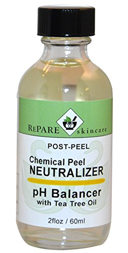 Chemical Post Peel Neutralizer - Adjusts Skins pH after TCA, Glycolic, Jessners, Salicylic & Lactic Acid Peels (2 fl oz / 60 - Hill Post Beacon