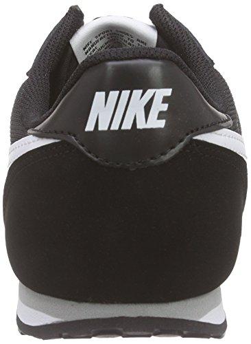 Nike Damen Genicco Print Sneakers Schwarz (Black/White/Wolf Grey 010)