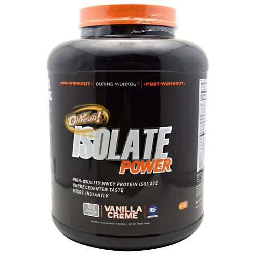 ISS Isolate Power Vanilla Creme 4 lbs (1814g)