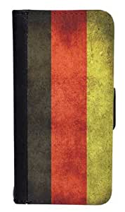 CellPowerCasesTM Germany Flag Bi-fold iPhone 5 Case - Fits iPhone 5 & iPhone 5S