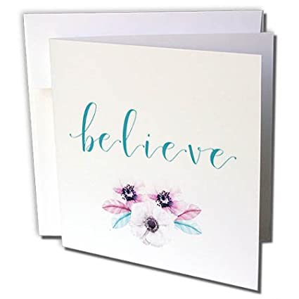 Amazon 3drose lenas photos cute sayings believe believe 3drose lenas photos cute sayings believe believe with flower inspirational quote m4hsunfo