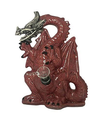 Magical Smoking Dragon Portable Smoking Hookah (Red, Dragon)