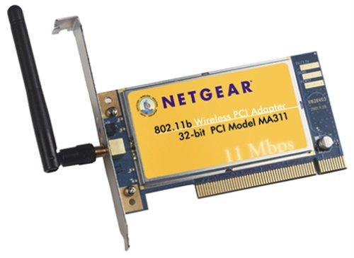 NETGEAR MA311 - Network adapter - PCI - 802.11b ()