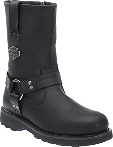 (Harley-Davidson Men's Mansfield Performance Motorcycle Boots D96112 (Blk, 10.5))