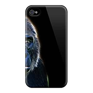 Cases Covers For Iphone 6plus Strong Protect Cases - Gorilla Art Design