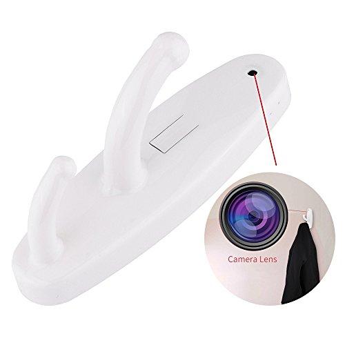Clothes Hook Spy Camera (White) - 6
