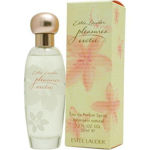 Pleasures Exotic By Estee Lauder For Women. Eau De Parfum Spray 3.4 oz (Pleasures Exotic Perfume)