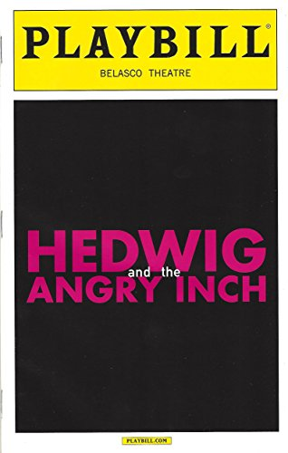 """Andrew Rannells """"HEDWIG and the ANGRY INCH"""" John Cameron Mitchell 2014 Playbill"""