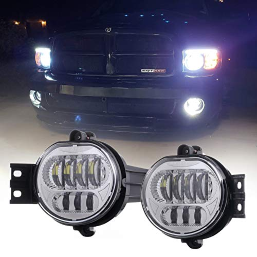 09 dodge 2500 led fog lights - 7