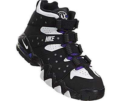 Nike Kid's Air Max CB 94 (GS), Clear Grey / White - Midway Navy - Total Orange