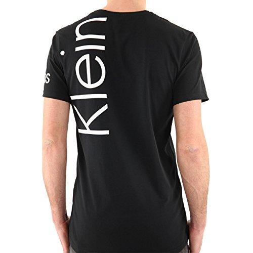 Calvin Klein T-Shirt, Herren, Kurzarm, Schwarz