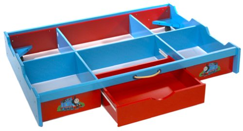 Amazon.com: Thomas U0026 Friends Wooden Railway   Under The Bed Trundle  Playtable: Toys U0026 Games