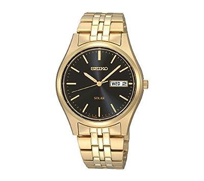Seiko Men's Goldtone Stainless Steel Solar Watch