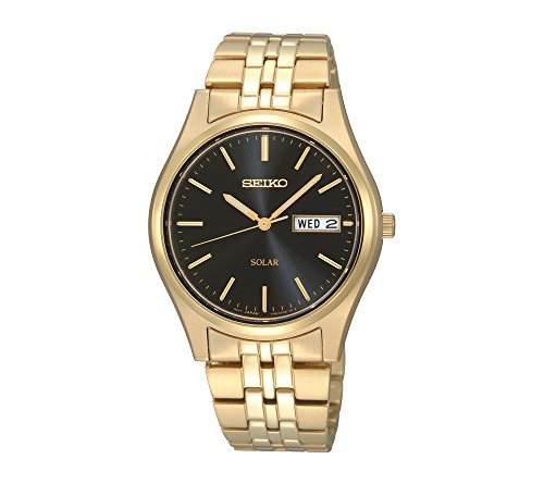 Seiko-Mens-Goldtone-Stainless-Steel-Solar-Watch