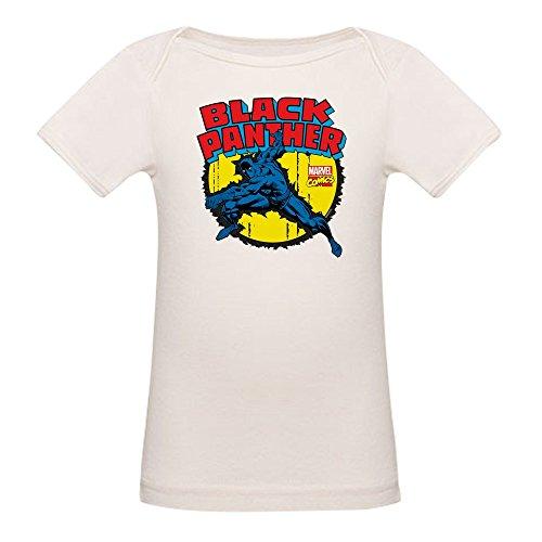CafePress Black Panther Comic - Organic Cotton Baby (Day Organic Baby T-shirt)