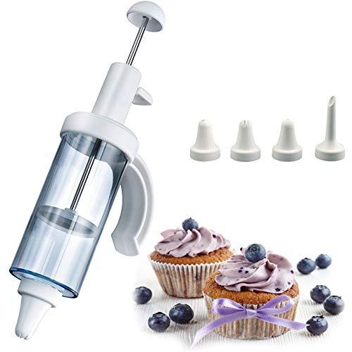 - Westmark 31162260 Garnishing- /Doughnut Filling Syringe 8.67-inches White
